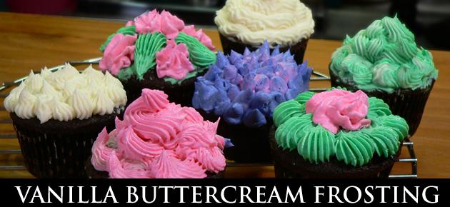 Vanilla Buttercream Frosting, slider.