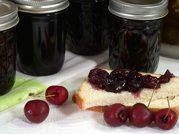How To Make Cherry Preserves Recipe, as seen on Taste of Southern.com.