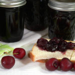 How to make and can Cherry Preserves, as seen on Taste of Southern. Printable recipe.
