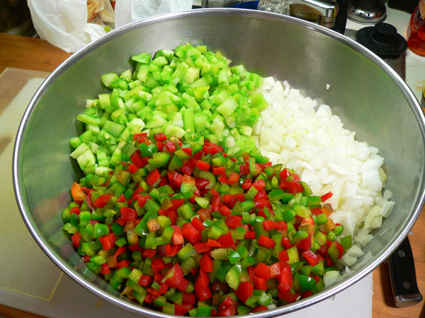 Chow Chow Relish, use a non-reactive container.