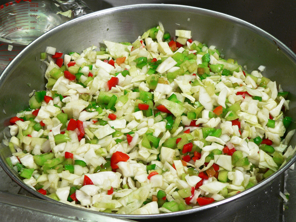 Chow Chow Relish, mix well.