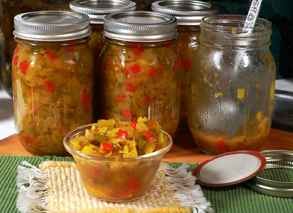 Southern Chow Chow Relish recipe, as seen on Taste of Southern.com.
