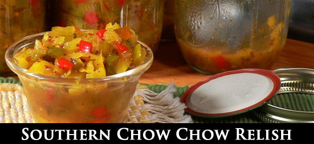Chow Chow Relish, slider.