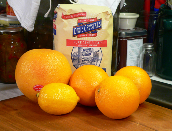 Citrus-Marmalade, you'll need these ingredients.