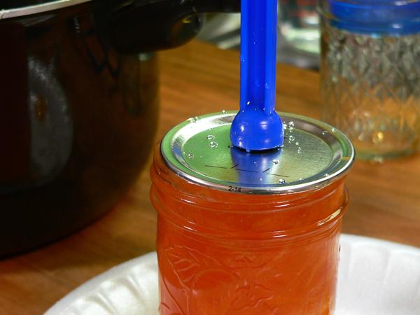 Citrus Marmalade, center a lid on the jar.