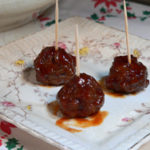 Meatball Appetizers recipe, printable recipe, from Taste of Southern.com.
