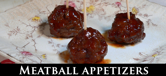 Meatball Appetizers, slider.