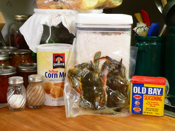 Soft Shell Crab, you'll need these ingredients.