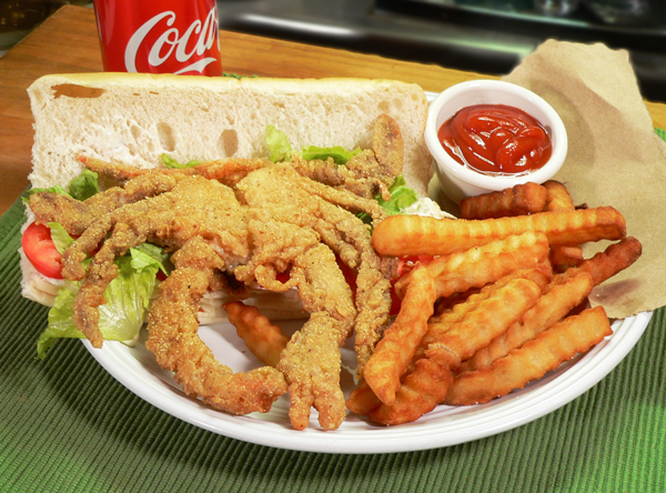 Soft Shell Crab Sandwich recipe, as seen on Taste of Southern.