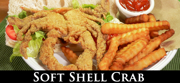 Soft Shell Crab, slider.