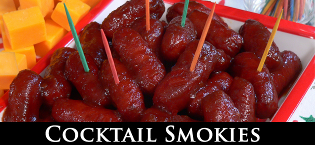 Cocktail Smokies, slider.