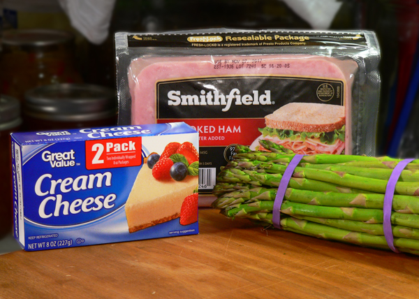 Ham and Asparagus Rollups, you'll need these ingredients.