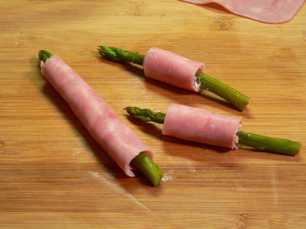Ham and Asparagus Rollups, variations to try.