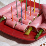 Ham and Asparagus Roll Ups, as seen on Taste of Southern.com.