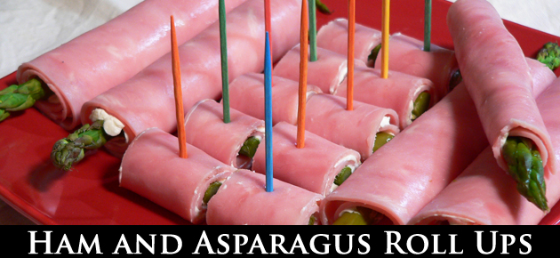 Ham and Asparagus Rollups, slider