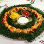 Pigs In A Blank Wreath, as seen on Taste of Southern.
