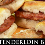 Pork Tenderloin Biscuits