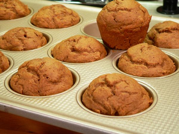 Pumpkin Spice Muffins, enjoy.