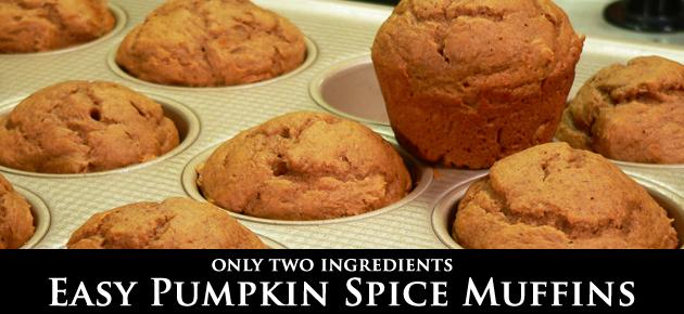 Pumpkin Spice Muffins, slider.