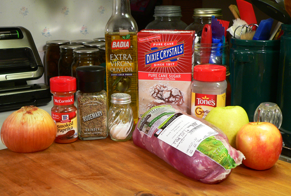 Roasted Pork Tenderloin, you'll need these ingredients.