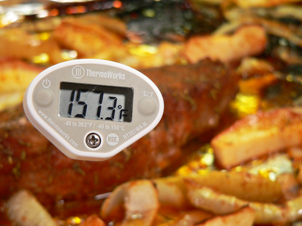 Roasted Pork Tenderloin, roasting temp.