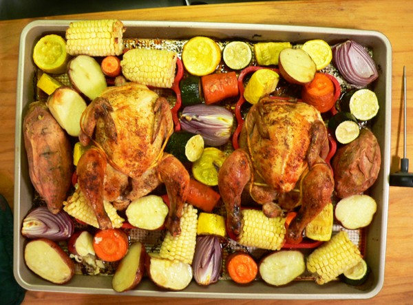 Cornish Hens, let the birds rest for 10 minutes before serving.