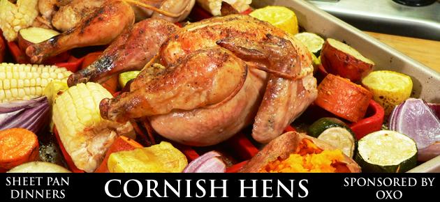 Cornish Hens, slider.