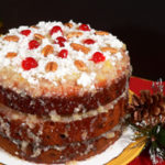 Japanese Fruitcake recipe, as seen on Taste of Southern.