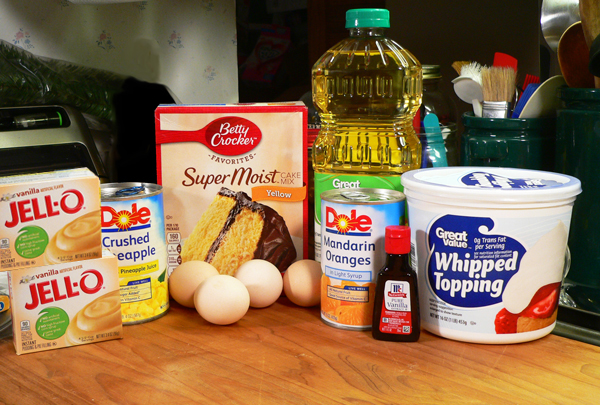 Pig Picking Cake, you'll need these ingredients.
