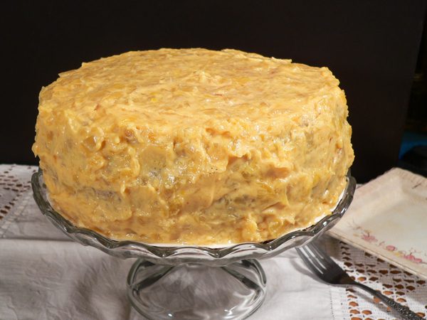 Pineapple Cake, made from scratch, as seen on Taste of Southern,