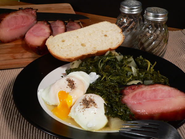Hog Jowl and Turnip Greens recipe, as seen on Taste of Southern.