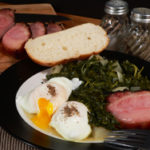 Hog Jowl with Turnip Greens recipe, as seen on Taste of Southern.com.