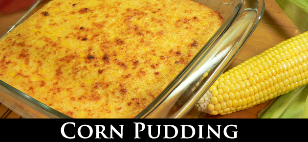 Corn Pudding, slider.