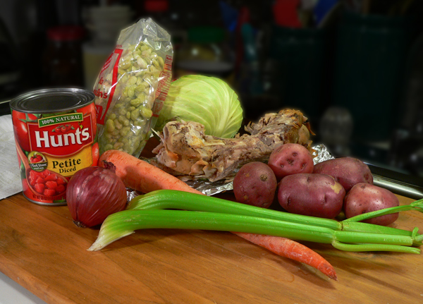 Ham Bone Soup, you'll need these ingredients.