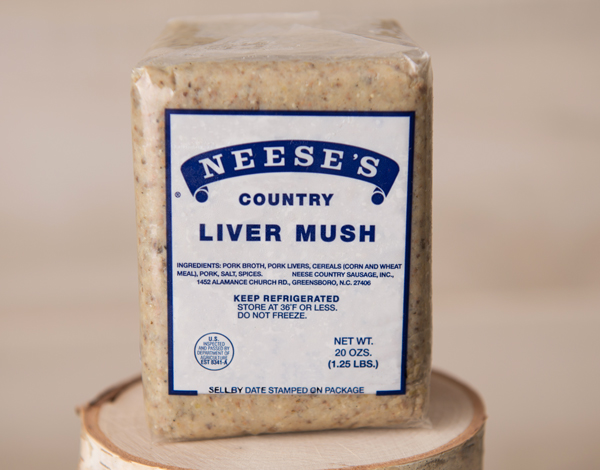 Livermush Sandwich, you'll need some livermush or liver pudding for this recipe.