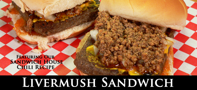 Livermush Sandwich, slider.
