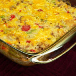 Sausage and Rice Casserole, as seen on Taste of Southern.com.