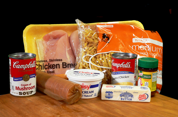 Chicken Casserole, you'll need these ingredients.
