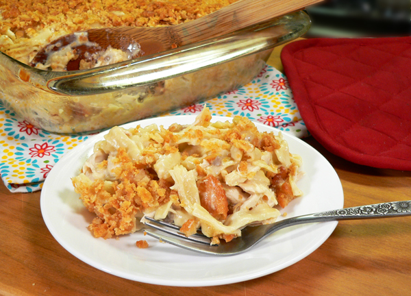 Chicken Casserole recipe, as seen on Taste of Southern.