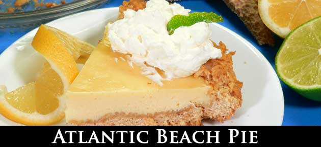 Atlantic Beach Pie recipe, slider.