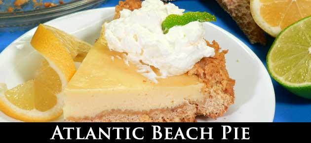 Atlantic Beach Pie recipe, slider.