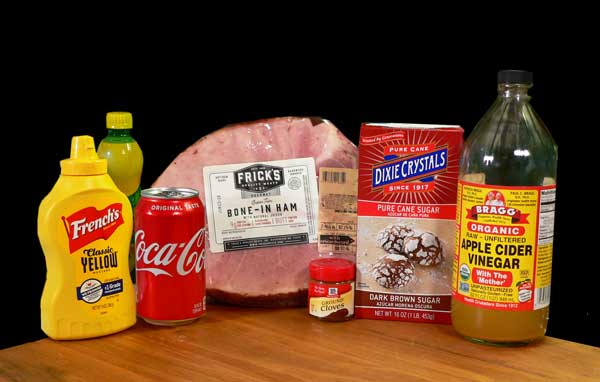 Coca-Cola Glazed Ham, you'll need these ingredients.
