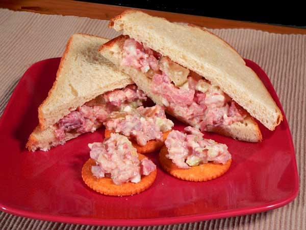 Ham Salad, recipe as seen on Taste of Southern.