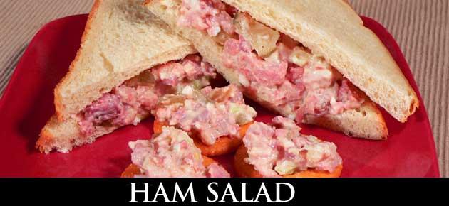 Ham Salad, slider.