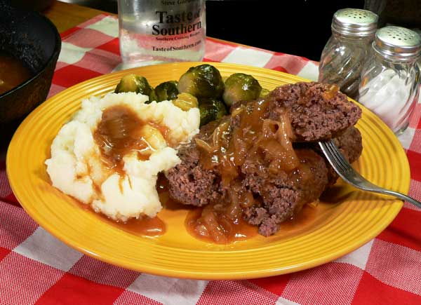 Hamburger Steak, as seen on Taste of Southern.com.