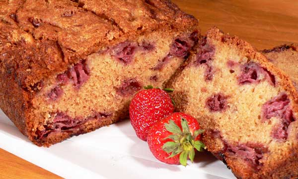 Strawberry Bread, enjoy.