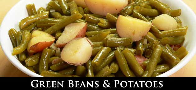Green Beans and Potatoes, slider.