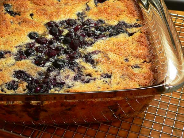 Blueberry Cobbler, enjoy.