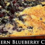 Southern Blueberry Cobbler