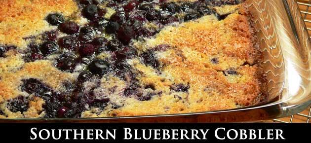 Blueberry Cobbler, slider